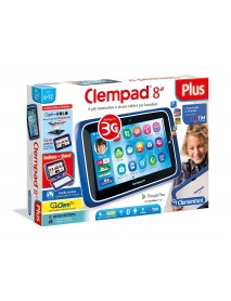 "Clementoni 16605 – Tablet Clempad 8"" Plus – [Versione 2017] 8005125166053"