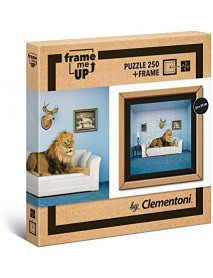 Clementoni- Puzzle Frame Me Up Master of The house-250 Pezzi, Multicolore - 8005125385003