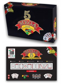 Grandi Giochi TOY205 - Mega 5 Game Combinations 8034139132051