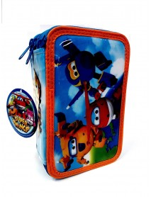Super Wings Astuccio 3 Zip 5949043721389
