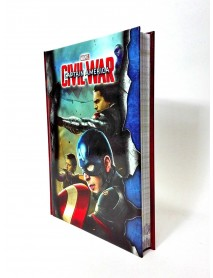 DIARIO SCUOLA STANDARD MARVEL CIVILWAR CAPTAIN AMERICA WINTER SOLDIER - 8011410228597