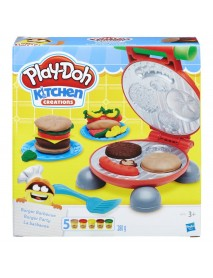 Play-Doh B5521EU4 - Burger Set, Multicolore 5010993343966