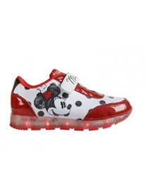 Disney Minnie 2300-2645 Scarpe Bambina, Luce Led, Multicolore, A Strappo 8427934982202