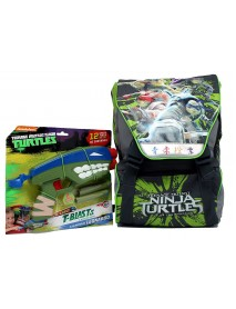 Zaino Estensibile Medium C/Gadget Turtles - OFFERTISSIMA - 8056379004837