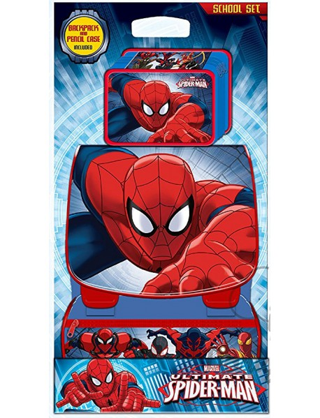 269dca3afd Zaino Spiderman con astuccio - 3800054690007 - Mondo Copie